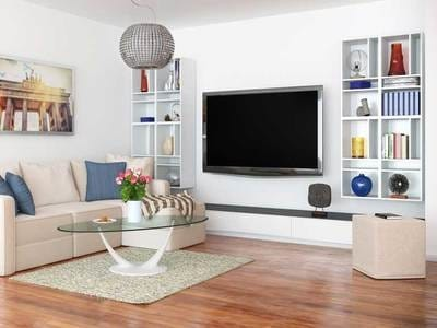 tv wall mounting height